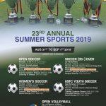 Sherpa Kyidug's annual summer sports registration